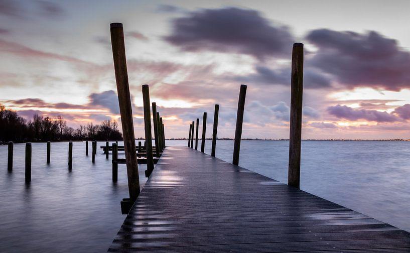 Steiger Westeinderplassen Aalsmeer van Dutch Creator