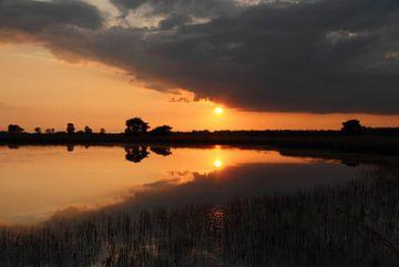 Sonnenuntergang von Hetwie van der Putten