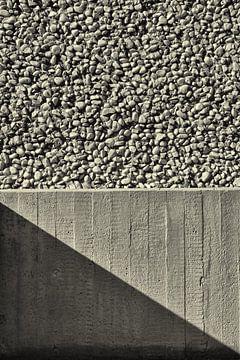 Beton patroon van Dennis Morshuis