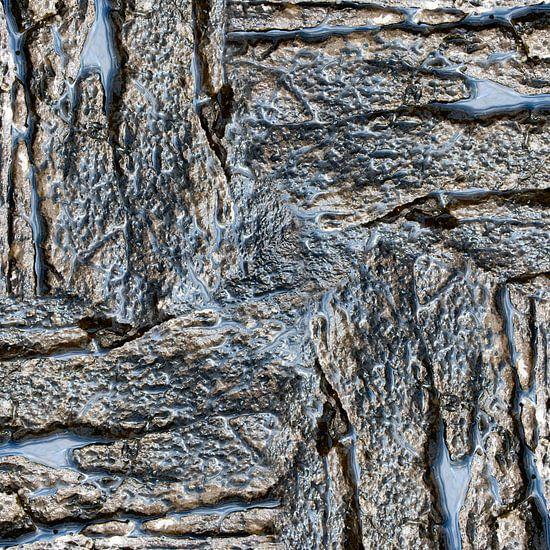 Wet rock (006) van Jeroen van der Meij