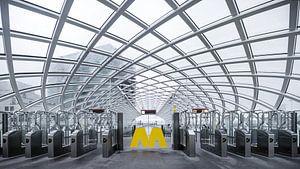 Metrostation in Den Haag