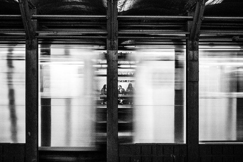 Subway Manhattan New York City sur Eddy Westdijk