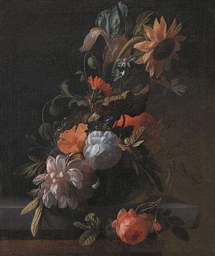 A Bowl Of Flowers, Elias Van Den Broeck
