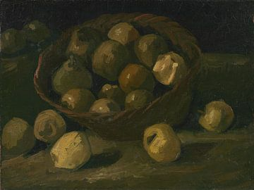 Vincent van Gogh, Korb mit Äpfeln