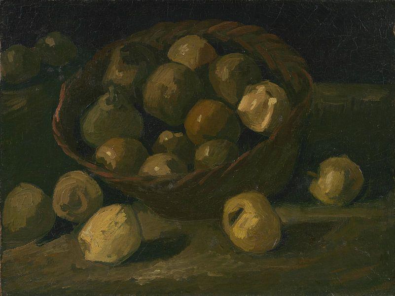 Vincent van Gogh, Mand met appels van 1000 Schilderijen