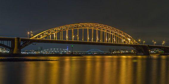 Waalbrug Nijmegen by Night - 1