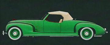 ZIS 101-A Sport 1939 van Jan Keteleer