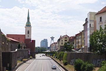 Paysage urbain de Bratislava sur Steven Marinus