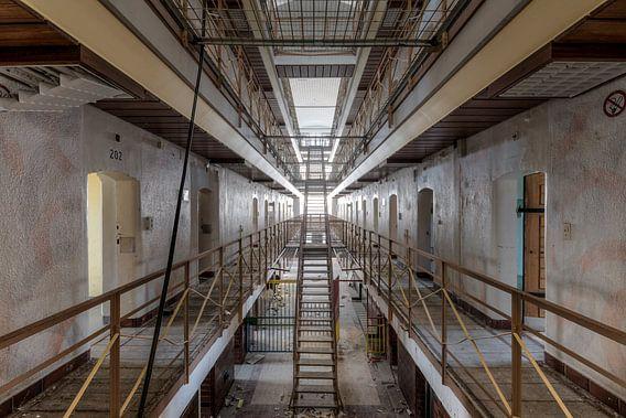 Symmetrie in de gevangenis van Perry Wiertz