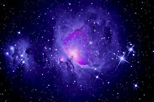 Orionnebel M 42 mit Running Man Nebel von