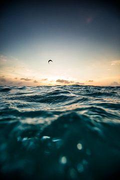 Kitesurfen Bonaire van Andy Troy