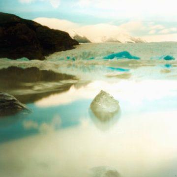 ijsberg in Patagonie von Marije Engelsman