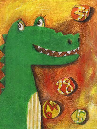 Krokodil Konstantin von Atelier BuntePunkt