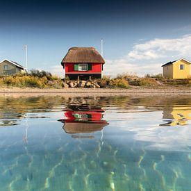 Maison de plage à la mer sur Claire Droppert