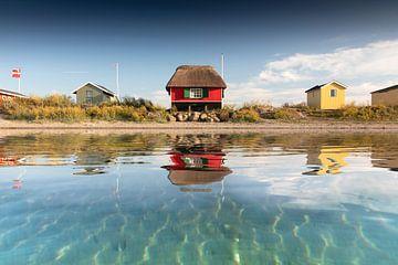 Strandhaus am Meer von Claire Droppert