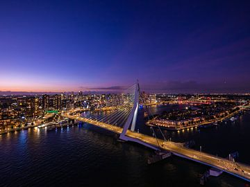 Paysage urbain de Rotterdam sur Dawid Ziolkowski
