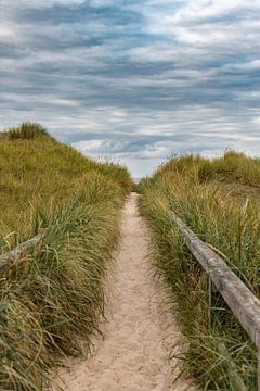 Weg zum Strand van Annett Mirsberger