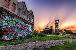 De Hef en grafitti