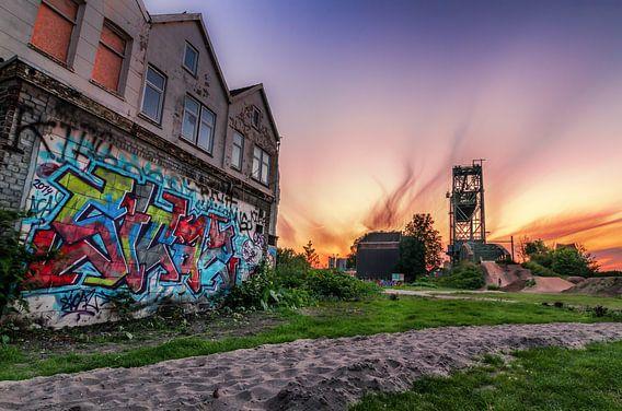 De Hef en grafitti van Prachtig Rotterdam
