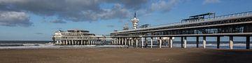 Pier Scheveningen Panorama von Contrast inBeeld