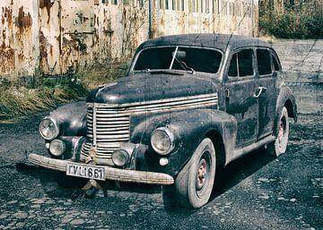 Opel Kapitän, modèle d'avant-guerre sur aRi F. Huber