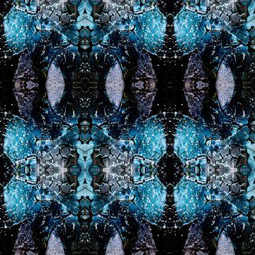 Collage de verre brisé