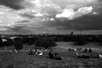 Londoner Skyline von Wytze Plantenga