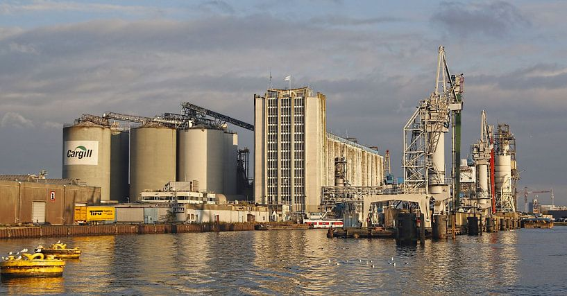 Amsterdam  Harbour Vlothaven Cargill silos von Ed Vroom