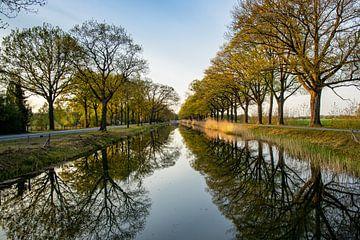 Frühling am Kanal von Apeldoorn von Adelheid Smitt