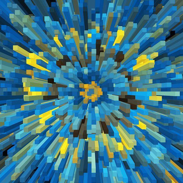 3D Blocks Nr.28 von Marion Tenbergen