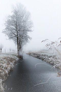 Winter in giethoorn van Marcia Bergsma