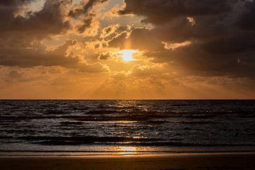 Zonsondergang van Dokra Fotografie