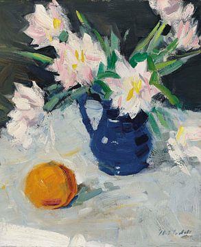 Flowers Still Life van Antonije Lazovic