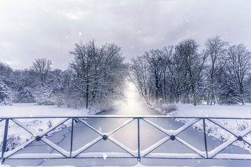 Sneeuw op kasteel Wolfsburg van Marc-Sven Kirsch