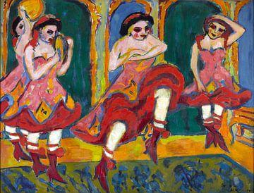 Ernst Ludwig Kirchner.Der Tanz