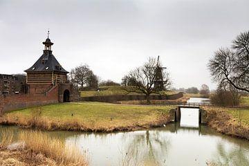 Hollands landschap von Rijk van de Kaa