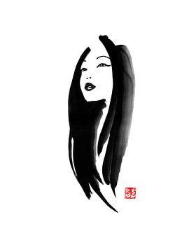 geisha sur philippe imbert