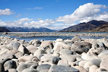onderweg in Tibet van