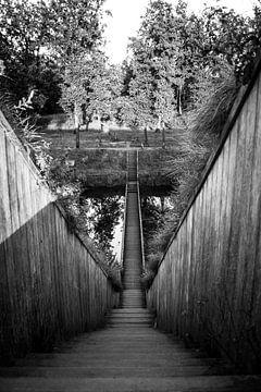 De Mozes brug, Fort de Roovere Halsteren von Lars Mol