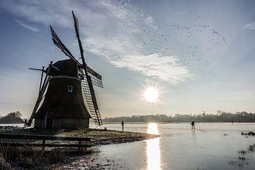 Winter in Holland van Sidney Portier