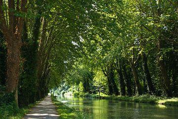 Pad langs het Canal du Midi van Anja B. Schäfer