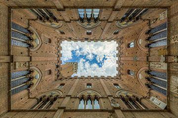Palazzo Pubblico in Siena sur