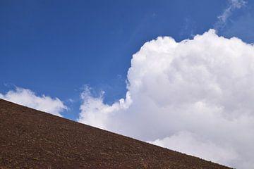 Minimaal beeld van de Etna berg van Heiko Obermair