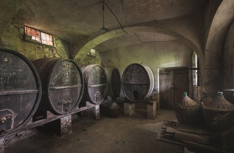 Wijnkelder van Perry Wiertz