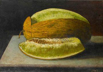 Stilleben mit Melone, Ahmet Ali
