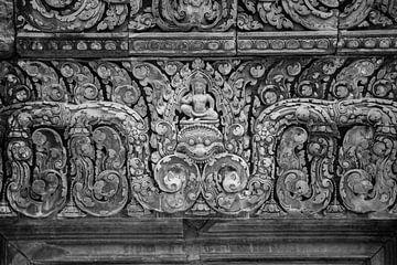 Snijwerk Angkor Wat van Alexander Wasem