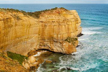 Klif in Australië dichtbij de Great ocean road van Ivonne Wierink