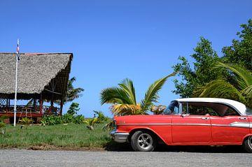 Chevy bij het strand von Merijn Koster