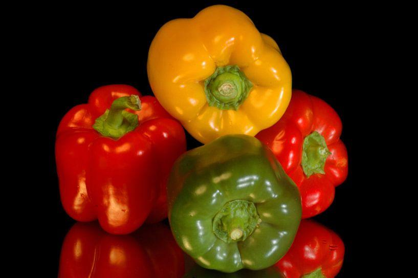 Paprika,s Groente van Brian Morgan