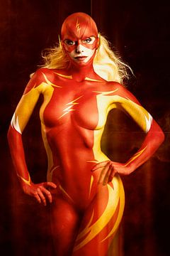 The Flash girl sur Peter Sandifort
